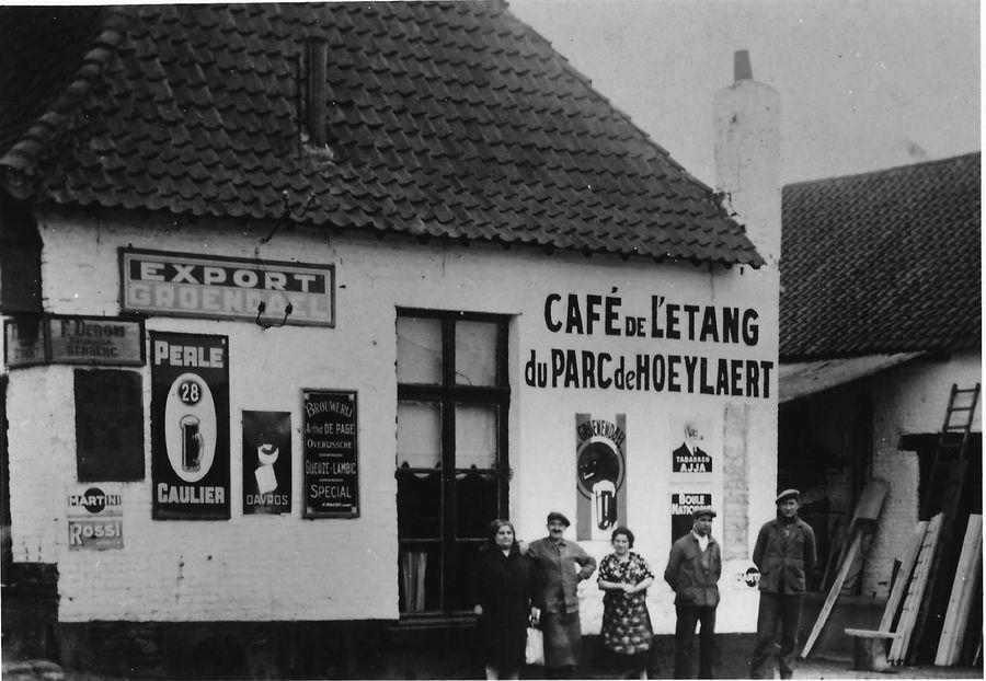 Café de l'étang du parc de Hoeylaert