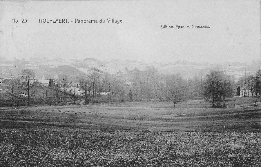 Panorama van het dorp