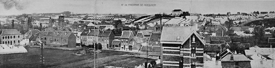 Panorama volledig dorp