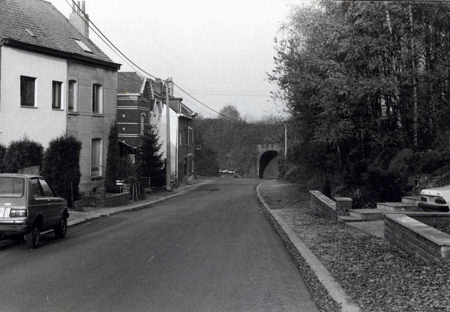 Terdelle brug - Het tunneltje