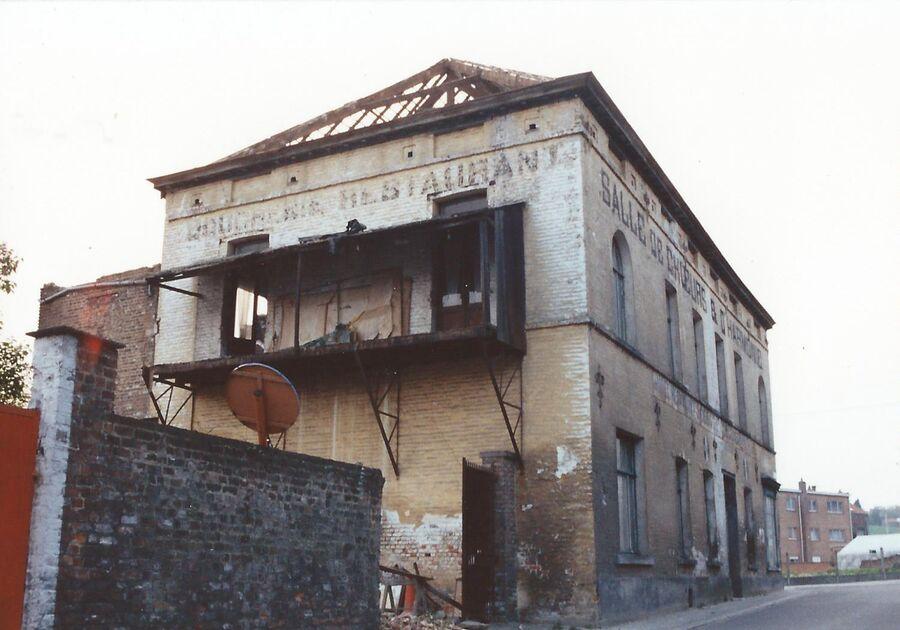 Victor Mertensstraat Deboodt afbraak 1991 3