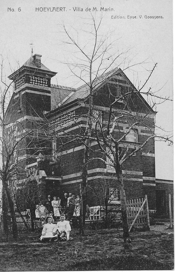 Villa Hortensia in de Panoramalaan