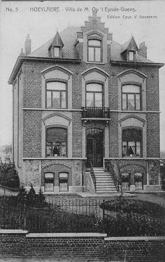 Villa Op 't Eynde-Goens